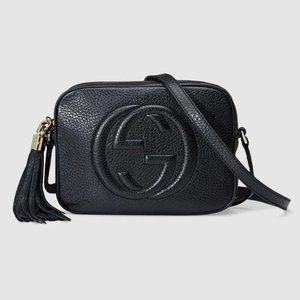 NWT Gucci Soho Leather Disco Mini Black Bag foshey